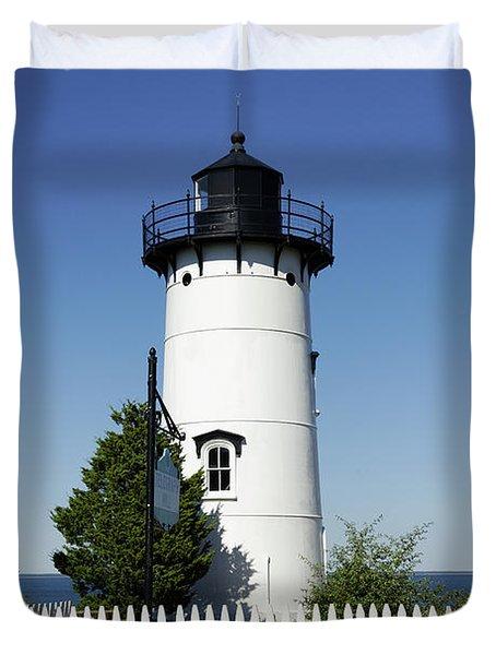 East Chop Lighthouse Duvet Cover by John Greim