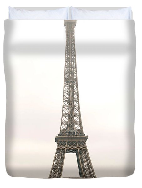 Eiffel tower Duvet Cover by Elena Elisseeva