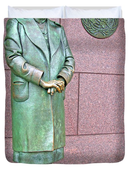 Eleanor Roosevelt -- 1 Duvet Cover by Cora Wandel