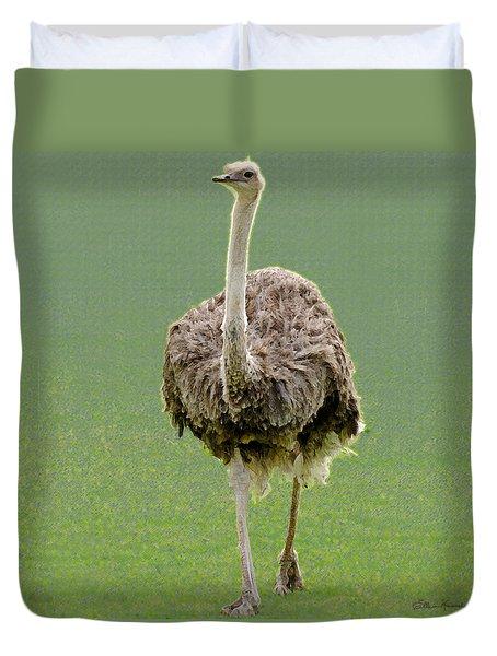 Emu Duvet Cover by Ellen Henneke