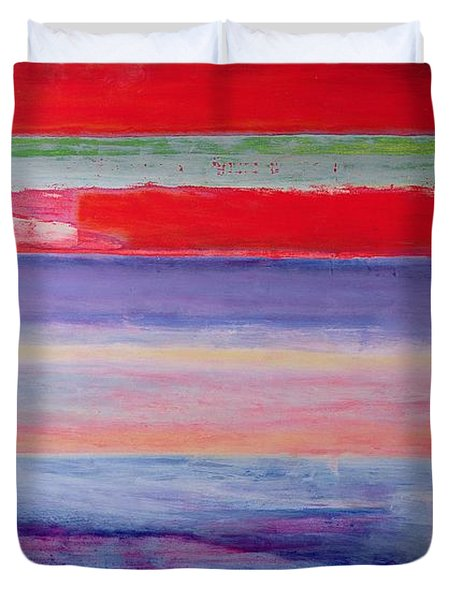 Everybody I Never Slept With  Duvet Cover by Lou Gibbs