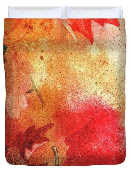 Fall Impressions  Duvet Cover by Irina Sztukowski