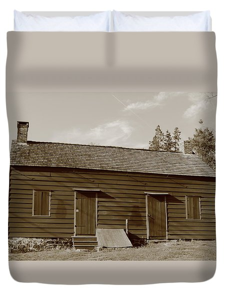 Farmhouse  Duvet Cover by Frank Romeo