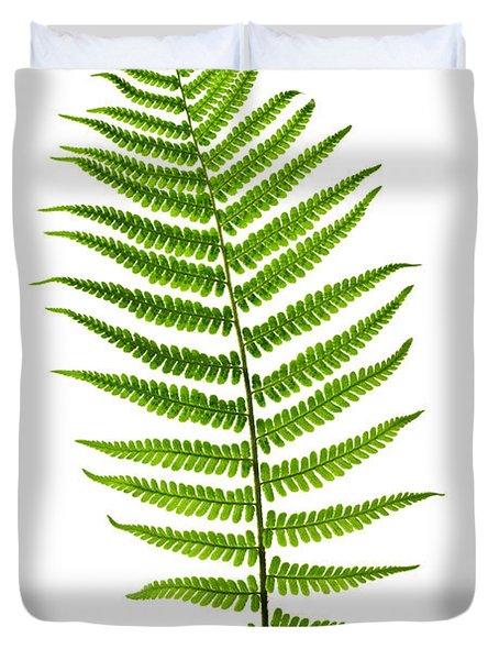 Fern leaf Duvet Cover by Elena Elisseeva