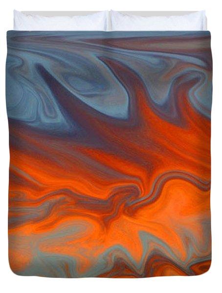 Fire Duvet Cover by Carol Lynch