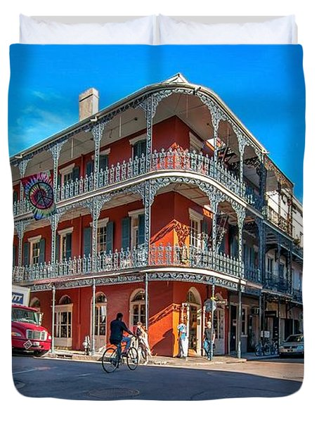 French Quarter Afternoon Duvet Cover by Steve Harrington