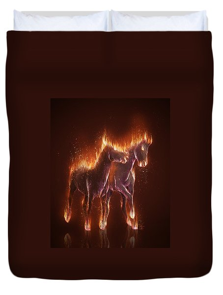 From Hell Duvet Cover by Kate Black