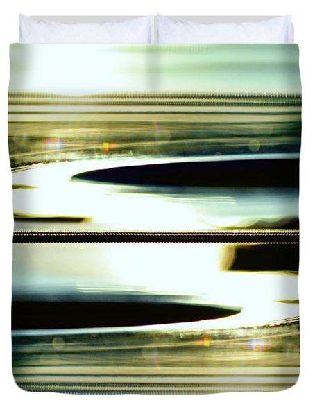 Guitar Galaxy Duvet Cover by Laura Fasulo