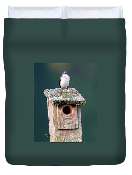 Home Sweet Home Duvet Cover by Bill Wakeley