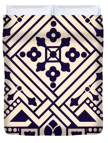 Illustration From Studies In Design Duvet Cover by Christopher Dresser