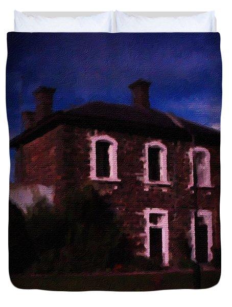 J Ward Ararat Duvet Cover by Blair Stuart