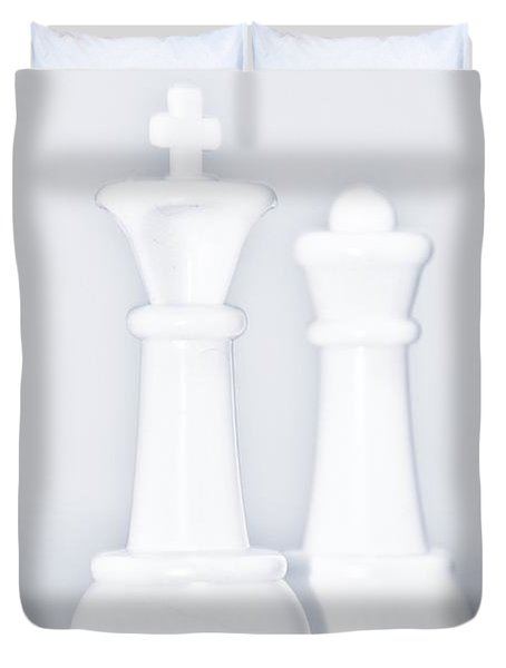King And Queen Duvet Cover by Rob Hans