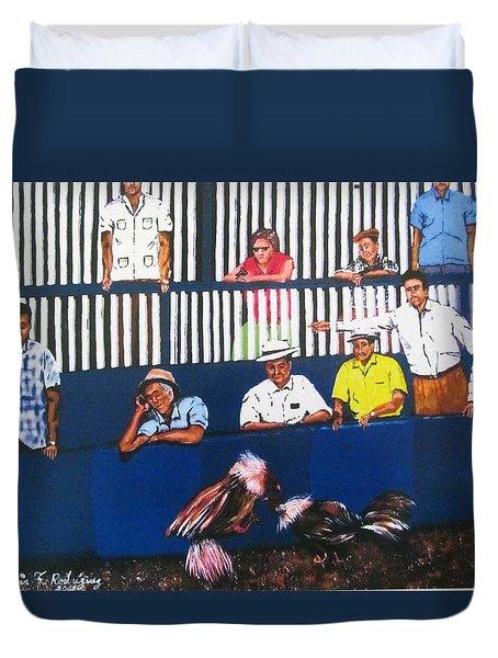 La Gallera Duvet Cover by Luis F Rodriguez