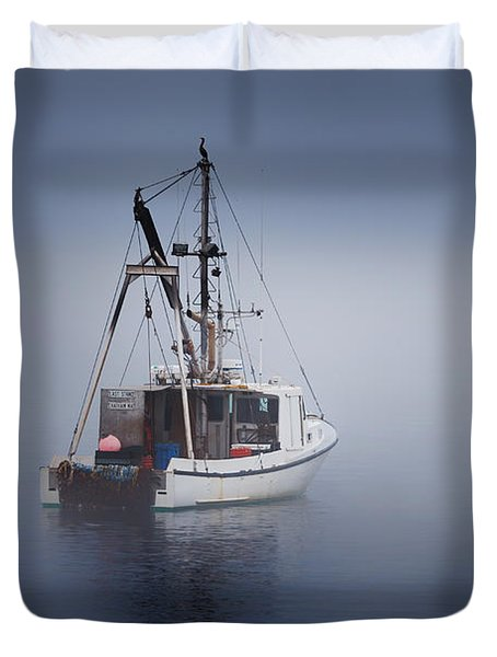 Lost Duvet Cover by Bill  Wakeley