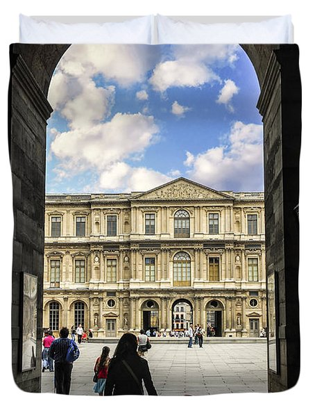 Louvre Duvet Cover by Elena Elisseeva