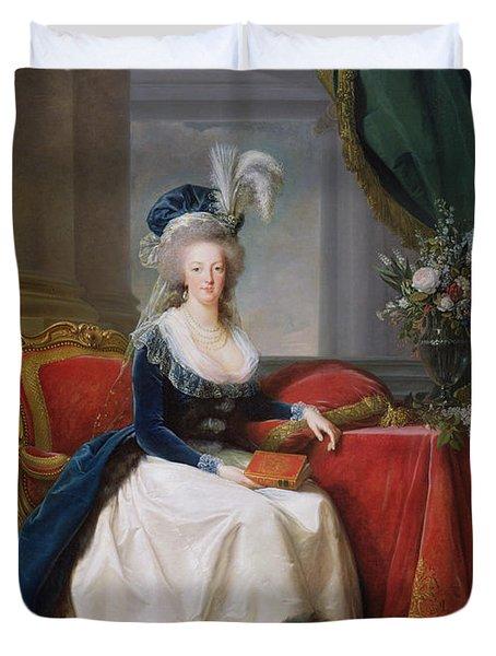 Marie Antoinette Duvet Cover by Elisabeth Louise Vigee-Lebrun