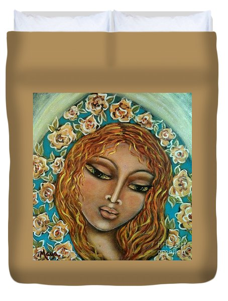 Mary Mary Duvet Cover by Maya Telford