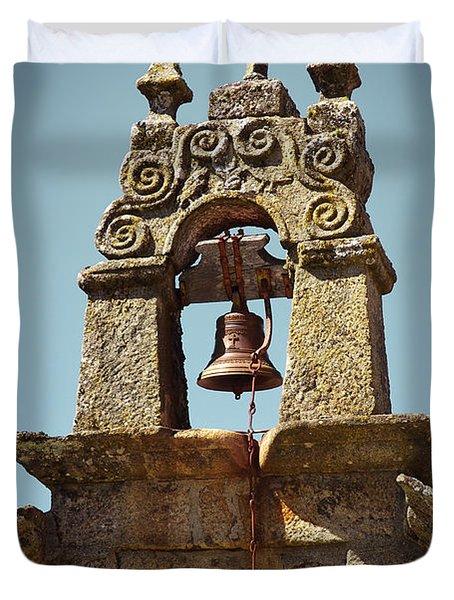 Medieval Campanile Duvet Cover by Carlos Caetano