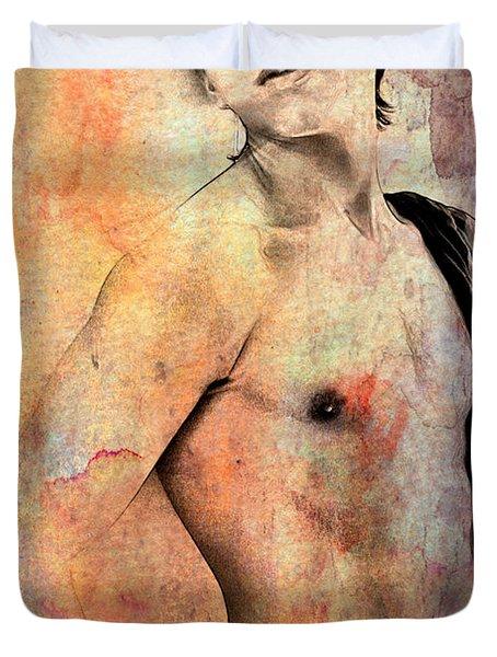 Mellow Duvet Cover by Mark Ashkenazi