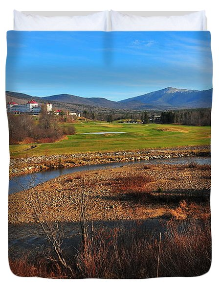 Mount Washington Duvet Cover by Catherine Reusch  Daley