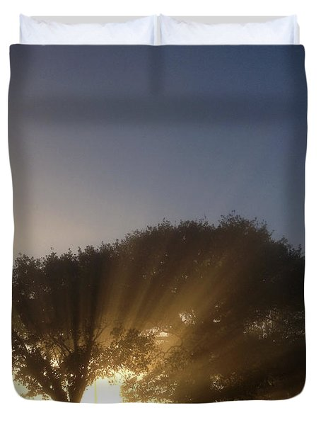 New Beginning Duvet Cover by Les Cunliffe