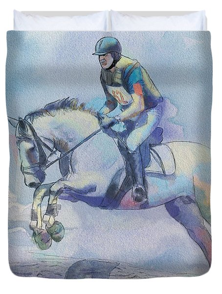 Polo Art Duvet Cover by Catf