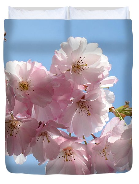 Pretty In Pink Duvet Cover by Lena Photo Art