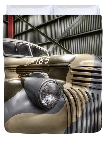 Ready To Roll Duvet Cover by Wayne Sherriff