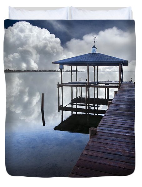 Reflections Duvet Cover by Debra and Dave Vanderlaan
