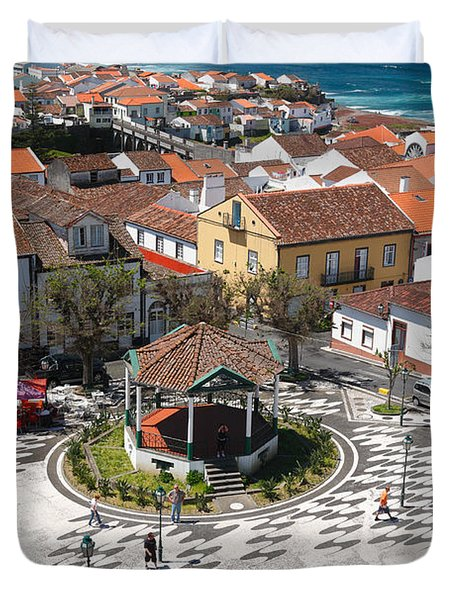 Ribeira Grande - Azores Duvet Cover by Gaspar Avila