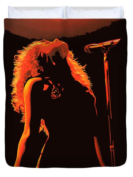 Shakira Duvet Cover by Paul Meijering