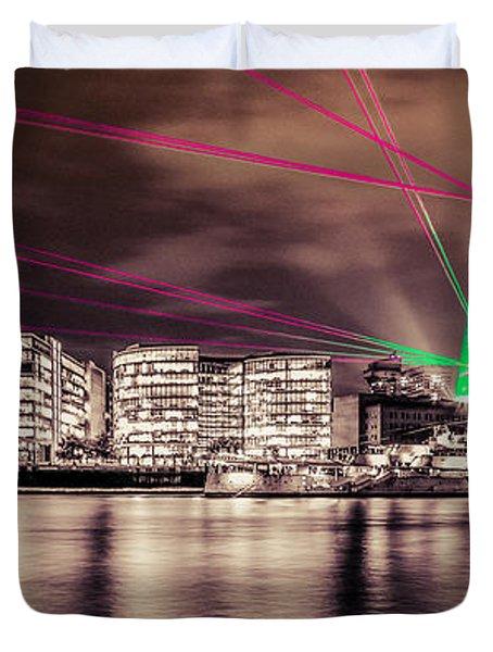 Shard London Duvet Cover by Dawn OConnor