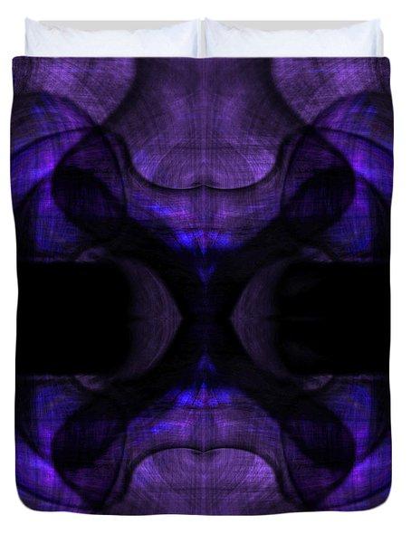 Silence Duvet Cover by Christopher Gaston