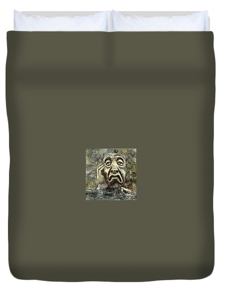 Sloth Duvet Cover by Suzette Broad