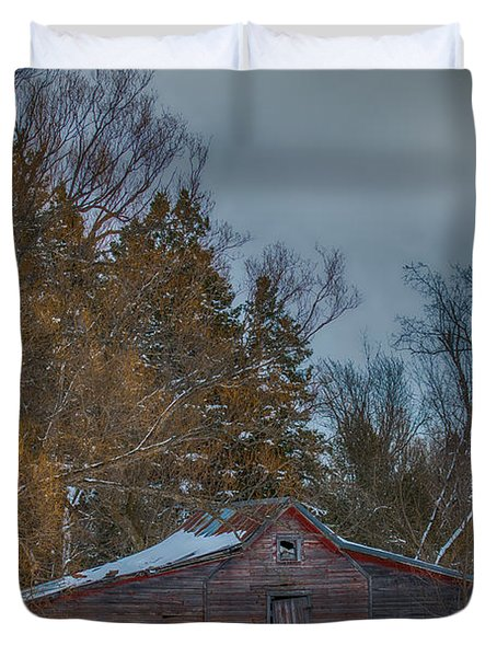 Small Barn Duvet Cover by Paul Freidlund