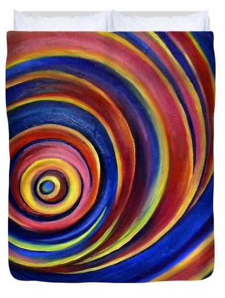 Spirals Duvet Cover by Art by Kar