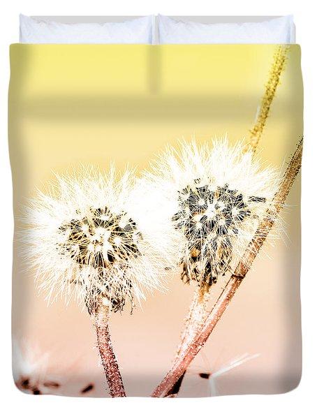 Spring Dandelion Duvet Cover by Toppart Sweden