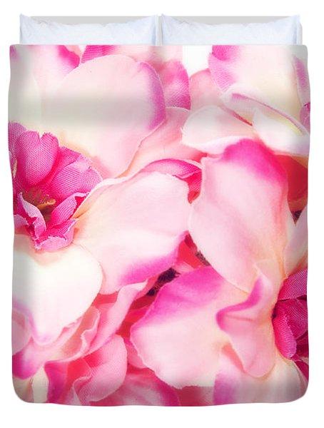 Spring Flowers  Duvet Cover by Michal Bednarek