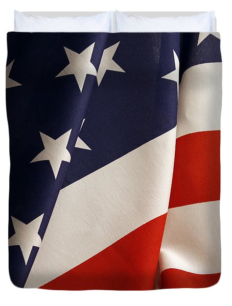 Stars And Stripes Duvet Cover by Les Cunliffe