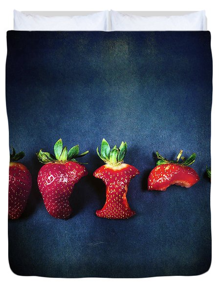 Strawberries Duvet Cover by Joana Kruse