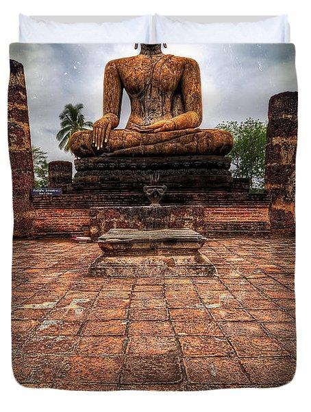 Sukhothai Buddha Duvet Cover by Adrian Evans