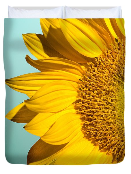 Sunflower Duvet Cover by Mark Ashkenazi