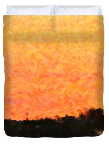 Sunset Duvet Cover by Toppart Sweden