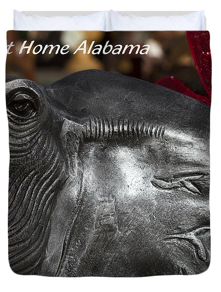 Sweet Home Alabama Duvet Cover by Kathy Clark