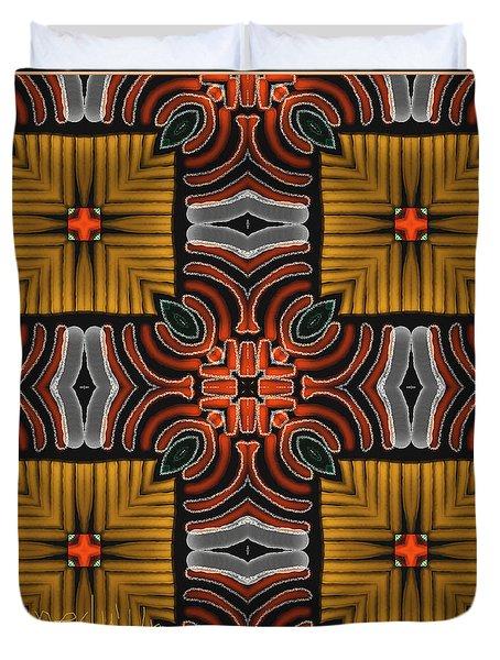 Symmetrica 319 Duvet Cover by Nedunseralathan R