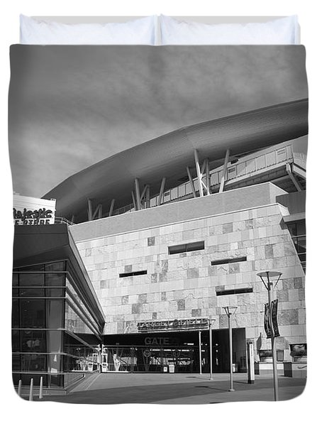 Target Field - Minnesota Twins Duvet Cover by Frank Romeo