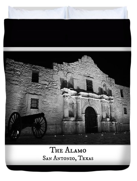 The Alamo Duvet Cover by Stephen Stookey