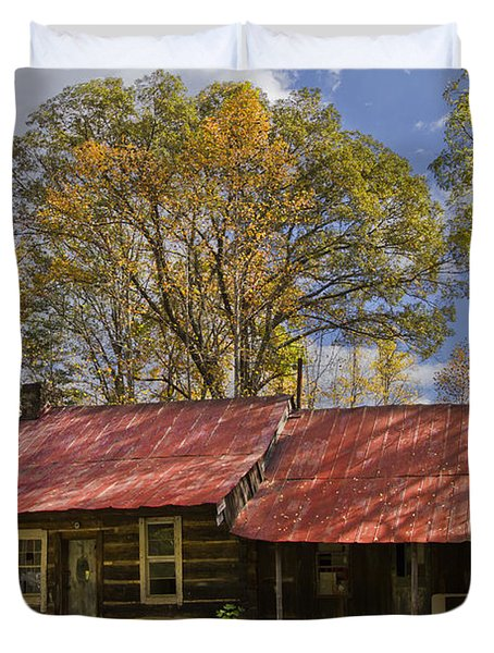 The Old Homestead Duvet Cover by Debra and Dave Vanderlaan
