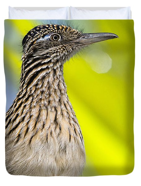 The Roadrunner  Duvet Cover by Saija  Lehtonen