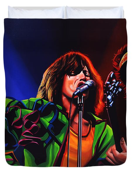 The Rolling Stones 2 Duvet Cover by Paul Meijering